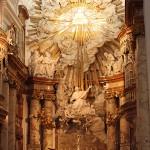Altar der Karlskirche in Wien