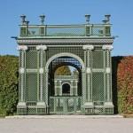 Gartentor im Park von Schloß Schönbrunn