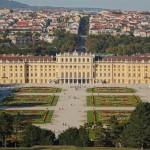 Blick auf Schloß Schönbrunn