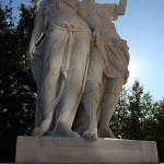 Statue im Park von Schloß Schönbrunn
